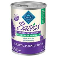 Blue Buffalo Life Protection Basics Grain Free Turkey & Potato Wet Dog Food from Blain's Farm and Fleet