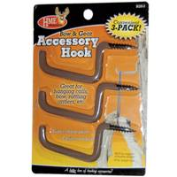 HME Products Bow & Gear Holder Accessory Hook 3-Pack from Blain's Farm and Fleet