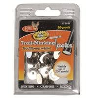 HME Products White Reflective Trail Marking Tacks from Blain's Farm and Fleet