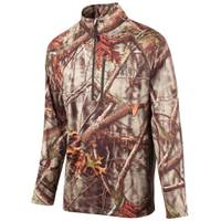 Huntworth Men's Oak Tree EVO Camouflage 1/4 Zip Performance Fleece Pullover Jacket from Blain's Farm and Fleet