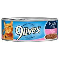 9 Lives Meaty Pate Seafood Platter Cat Food from Blain's Farm and Fleet