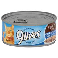 9 Lives Hearty Cuts With Real Chicken & Salmon Cat Food from Blain's Farm and Fleet