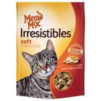 Meow Mix Irresistibles Soft Cat Treats from Blain's Farm and Fleet