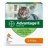 Advantage II Once a Month Topical Flea Prevention & Treatment for Cats from Blain's Farm and Fleet