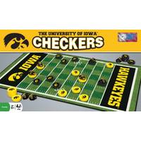 MasterPieces NCAA Iowa Checkers Game from Blain's Farm and Fleet