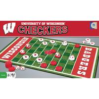 MasterPieces NCAA Wisconsin Badgers Team Checkers from Blain's Farm and Fleet