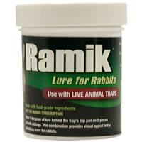 Ramik 4oz Live Animal Trap Lure for Rabbits from Blain's Farm and Fleet