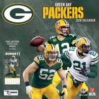 Turner Licensing Green Bay Packers Mini Wall Calendar from Blain's Farm and Fleet