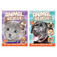 Kappa Animal Rescue Coloring Book Assortment from Blain's Farm and Fleet