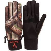 Huntworth Men's Performance Fleece Shooters Gloves from Blain's Farm and Fleet