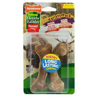 Nylabone Healthy Edibles Wild Venison and Bison Medium Chews from Blain's Farm and Fleet
