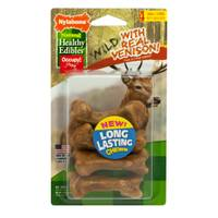 Nylabone Healthy Edibles Small Wild Venison Dog Chew Treat Bones from Blain's Farm and Fleet
