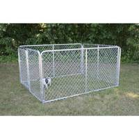 Stephens Pipe & Steel Silver Series Dog Kennel from Blain's Farm and Fleet