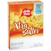 Jolly Time Xtra Butter Popcorn from Blain's Farm and Fleet
