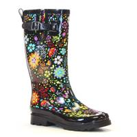 Western Chief Women's Floral Garden Play Tall Rainboot from Blain's Farm and Fleet