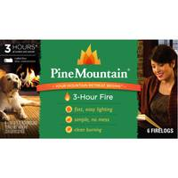 Pine Mountain 3 Hour Classic Fire Logs from Blain's Farm and Fleet