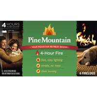 Pine Mountain 4 Hour Classic Fire Logs from Blain's Farm and Fleet