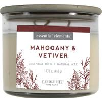 Candle-Lite Mahogany & Vetiver 3-Wick Candle from Blain's Farm and Fleet