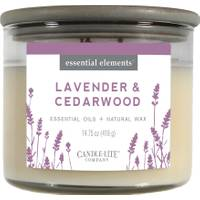 Candle-Lite Lavender & Cedarwood 3-Wick Candle from Blain's Farm and Fleet