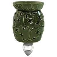 Boulevard Green Vine Outlet Wax Warmer from Blain's Farm and Fleet