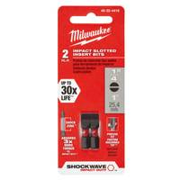 Milwaukee Shockwave Insert Bit Slotted from Blain's Farm and Fleet