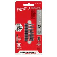Milwaukee Shockwave Torx Bit Set from Blain's Farm and Fleet