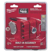 Milwaukee Door Lock Installation Hole Dozer Hole Saw Kit from Blain's Farm and Fleet