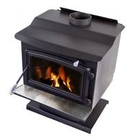 Pleasant Hearth Wood Stove with Pedestal Base from Blain's Farm and Fleet
