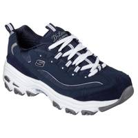 Skechers Women's  & White D'Lites-Me Time Shoes from Blain's Farm and Fleet