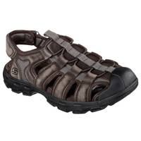 Skechers Men's Relaxed Fit Gander Selmo Sandal from Blain's Farm and Fleet