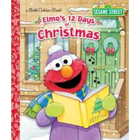 Little Golden Books Elmo's 12 Days of Christmas from Blain's Farm and Fleet