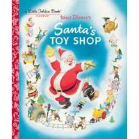 Little Golden Books Santa's Toy Shop Disney from Blain's Farm and Fleet