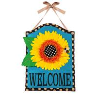 Evergreen Enterprises Sunflower Welcome Door Hanger from Blain's Farm and Fleet