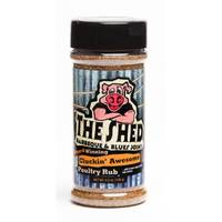 The Shed Cluckin' Awesome Poultry Rub from Blain's Farm and Fleet