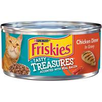 Friskies Tasty Treasures Chicken & Bacon Cat Food from Blain's Farm and Fleet