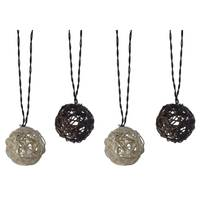 Moonrays Solar Rattan String Ball Lights from Blain's Farm and Fleet