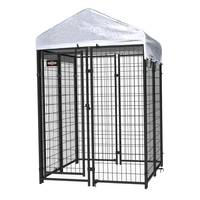 Pet Sentinel Dog Kennel with Cover from Blain's Farm and Fleet