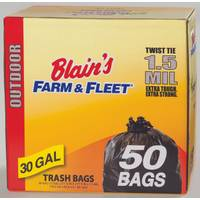 Blain's Farm & Fleet 30 Gallon Outdoor Trash Bags from Blain's Farm and Fleet