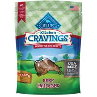 Blue Buffalo Life Protection Kitchen Cravings Beef Sausage Homestyle Dog Treats from Blain's Farm and Fleet