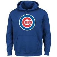 MLB Men's  Chicago Cubs Tek Patch Fleece Sweatshirt from Blain's Farm and Fleet