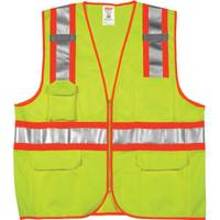 Tingley Men's Job Sight Class 2 Two-Tone Surveyor Vest from Blain's Farm and Fleet