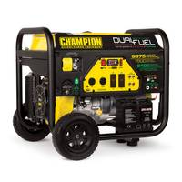 Champion Power Equipment 7500-Watt Dual Fuel Portable Generator with Electric Start from Blain's Farm and Fleet