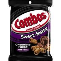 Combos Sweet & Salty Chocolate Fudge Pretzels from Blain's Farm and Fleet