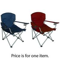 HGT International Assorted XL Big Boy Camp Chair from Blain's Farm and Fleet