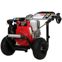 Simpson MegaShot 3100 PSI 2.5 GPM Gas Pressure Washer from Blain's Farm and Fleet