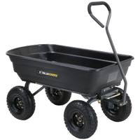 Gorilla Carts Garden Dump Cart from Blain's Farm and Fleet