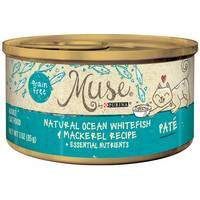 Purina Muse Natural White Fish & Mackerel Cat Food from Blain's Farm and Fleet