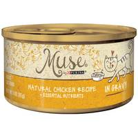 Purina Muse Natural Chicken in Gravy Cat Food from Blain's Farm and Fleet