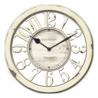 Firstime Manufactory Antique Contour Wall Clock from Blain's Farm and Fleet