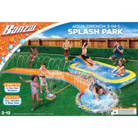 Banzai Aqua Drench 3-in-1 Splash Park from Blain's Farm and Fleet